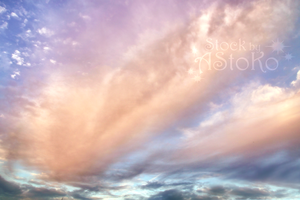 S T O C K ~ Softly clouds by AStoKo