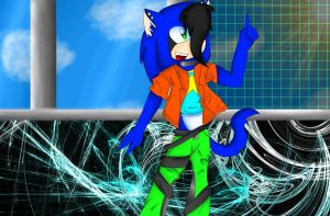 Into the future -contest pic- by Cheywolfe