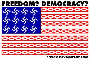 Freedom and democracy by 13VAK