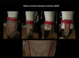 Native Connor Kenway Costume WIP by MitchTheChief