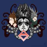 Three Faces (Axiom Verge T-Shirt Design) by MeMiMouse