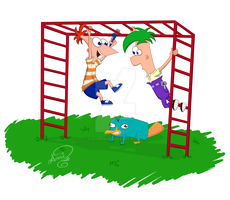 Phineas and Ferb! by FunAnnieh585