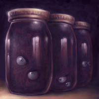 Uncanny Jars by Bakenius