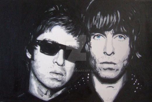 Brothers Gallagher by Mazzi294