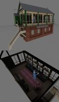 Signal Box by bonjourmonami