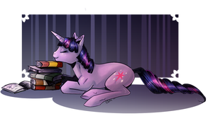 Twilight Sparkle (Comic-coloring style) by Lionel23