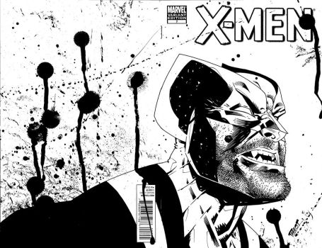 another X-Men sketch cover! by terrypallot
