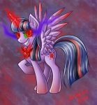 Twilight Sparkle - dark Alicorn by Dany-the-Hell-Fox