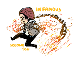 infamous second son by IExLibrisI