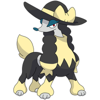 New Furfrou Senorita Shiny by Fernando0314