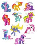 G4 ponies by SeaGerdy