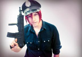 Free! Eternal Summer, Rin Policeman Cosplay Ending by hakucosplay
