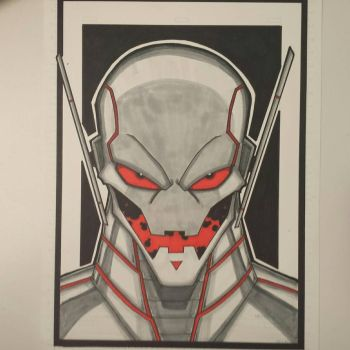 Ultron colored and finished. by drtidigler
