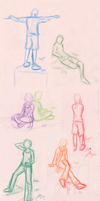 Figure drawing 12-4 by PirateQueenErin