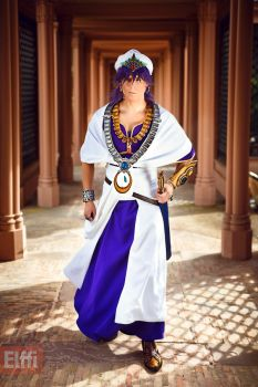 The king of Sindria - Sinbad - Cosplay by Elffi