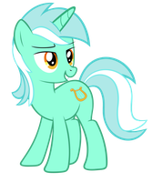 Lyra giving the look (sockless) by FluffyTuli