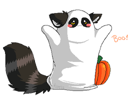BOO by SpunkyRacoon