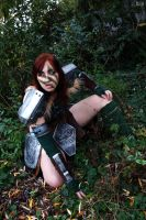 Aela the Huntress - On the watch by Gekroent