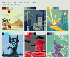 Color Scheme Challenge by yassui