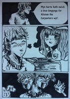 The Millers Tale (Chaucer) Manga Style Comic Page1 by artistof95