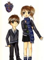 HP Cousins: Ravenclaw by OmgItsEmily