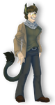 Tobias. Commission. by Moony-moo