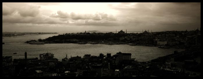 Wide istanbul - Bosphorus by dostclick