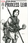 Princess Leia Sketch cover - Boushh revisited by nguy0699