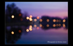 bokeh reflection by DoroteaSanto