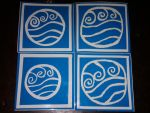 Avatar Water Tribe Stickers by vanessa1775