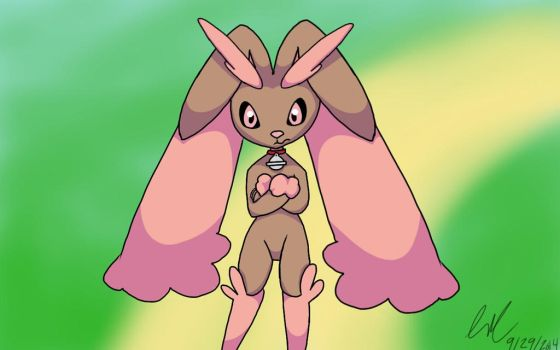 grumpy lopunny by sonic0chick