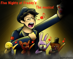 Markiplier : Five Night's at Freddy's The Musical by QuincySoulz