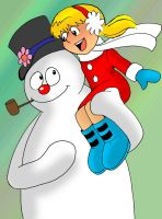 Frosty and Karen by Koku-chan