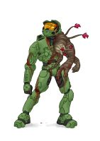 Master Chief flooded by MaxGrecke