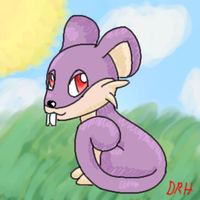 Rattata by sqeakii00