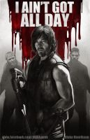 Daryl Dixon by pinkhavok