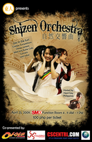 Shizen Orchestra Poster 1 by thelovegangster