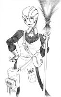 Warforged Maid - Final by TCPolecat7