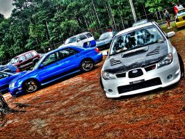 Impreza Imports by PhotographiCreed