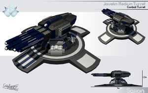 Javelin Medium Turret by Calates