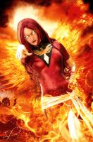 The Dark Phoenix by xxLaylaxx
