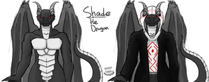 Shade the Dragon by Shark-Butt