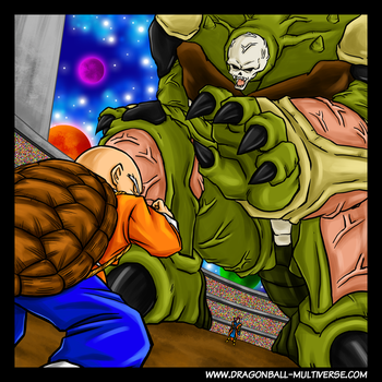 DBM vol.8 cover : Kulilin vs Tapion by Fayeuh