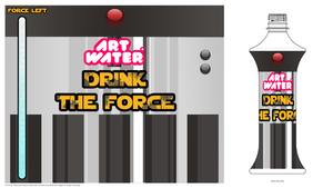 Lightsaber Bottle 2.0 by Office-Space