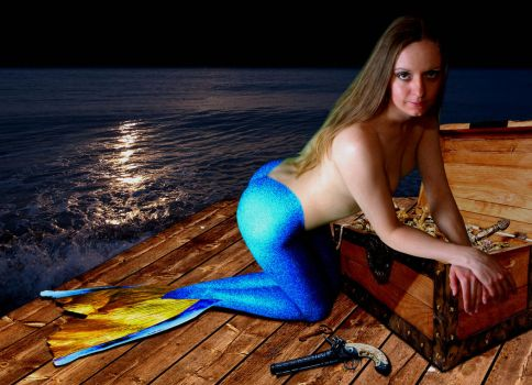Mermaid Victoria ~ what do you have to barter? by sirenabonita