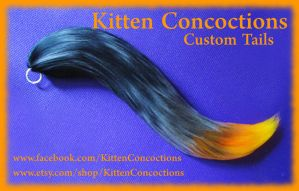 Second Ember Tail by KittenConcoctions