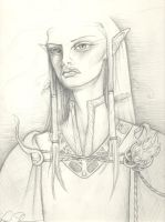 Alatariel Lady of Lorien by littlelea
