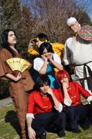 Ranma 1/2 Group!! by JuliaGranger