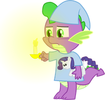 Spike is up late in MLP genera by starshinesprint