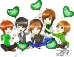 SS501 Chibi Love by yuisama